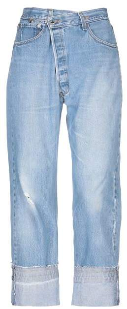 with LEVI'S Denim trousers