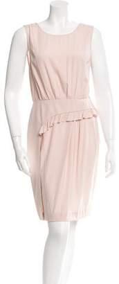 Vera Wang Silk Sleeveless Dress $100 thestylecure.com