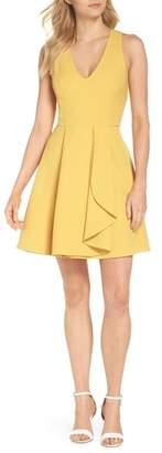 Adelyn Rae Fallon Sleeveless Fit & Flare Dress