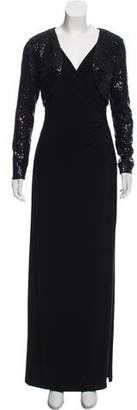 Lauren Ralph Lauren Embellished Evening Gown w/ Tags