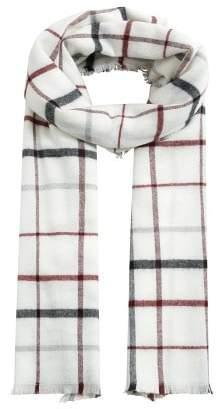 MANGO Check scarf