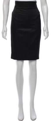 Brunello Cucinelli GUNEX x Wool-Blend Knee-Length Skirt