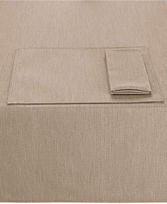 "Noritake Colorwave Taupe Collection 60"" x 84"" Tablecloth"