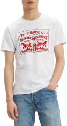 Levi's Regular-Fit 2-Horse Cotton Jersey Graphic Tee