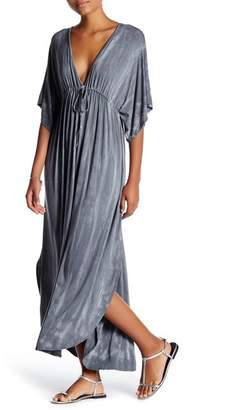 American Twist Tie-Dye Dolman Maxi Dress