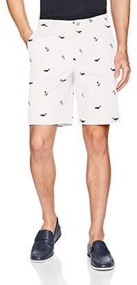 Izod Men's Saltwater Flat Front Shorts