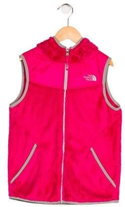 The North Face Girls' Hooded Fleece Vest