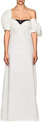 Brock Collection Women's Doda Cotton-Silk Poplin Maxi Dress