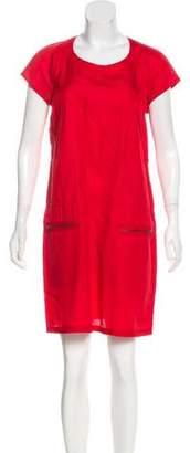 Etoile Isabel Marant Short Sleeve Mini Shift Dress
