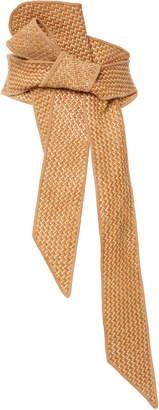 Johanna Ortiz M'O Exclusive Bahia Palace Woven Leather Belt
