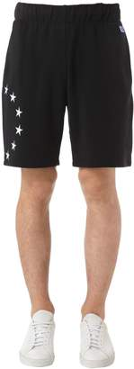 Europa Embroidered Cotton Jersey Shorts
