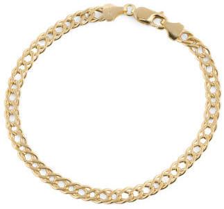 Men's Made In Italy 14k Gold Grande Marquise Bracelet