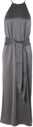 Halston 3/4 length dresses