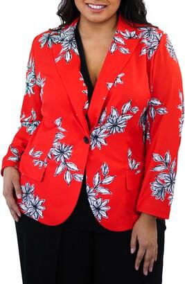 Maree Pour Toi Floral Blazer