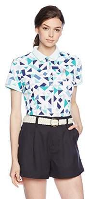 Munsingwear (マンシングウェア) - (マンシングウェア) Munsingwear 半袖シャツ(ニット) JWLJ224 XN10ブルー系 LL