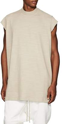 Rick Owens Men's Slub Cotton Short-Sleeve Sweatshirt