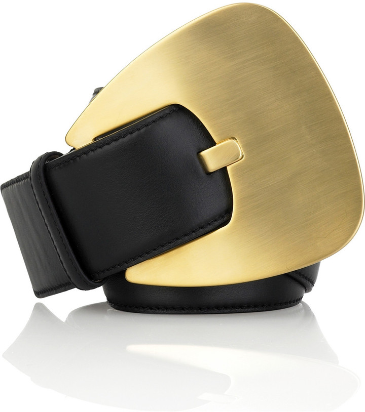 Michael Kors Oversized buckle waist belt