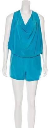 Ramy Brook Silk Romper Shorts