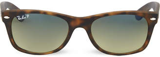 Ray-Ban Tortoiseshell matte finish wayfarer sunglasses RB2132 52