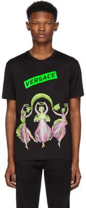 Versace Black Dancing Statues T-Shirt