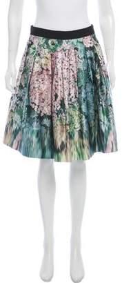 Ted Baker Printed Knee-Length Skirt