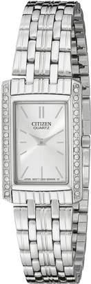 Citizen WoMen's EK1120-55A Quartz Watch in Stainless Steel