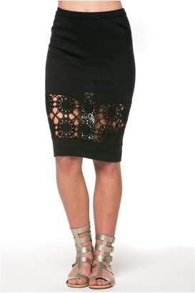 POL Crochet Pencil Skirt