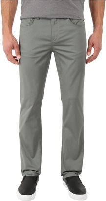 Perry Ellis Slim Fit Solid Sateen Five-Pocket Pants $59.50 thestylecure.com
