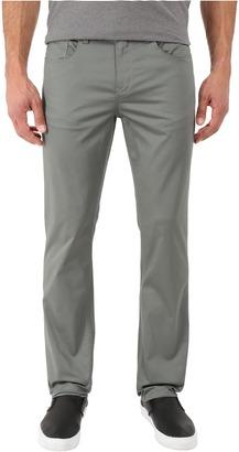 Perry Ellis Slim Fit Solid Sateen Five-Pocket Pants $59.50 thestylecure.com