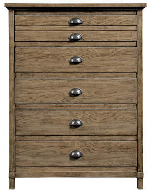 Stanley Furniture Stone & Leigh by Driftwood Park 5 Drawer Chest