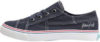 Blowfish Womens Pacific Canvas Trainers Navy Washed