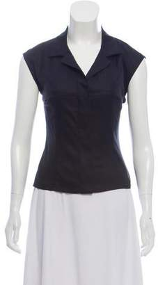 Narciso Rodriguez Tailored Collared Top