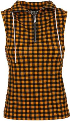 47167b2aed2d3 Gingham Sleeveless Tops - ShopStyle UK