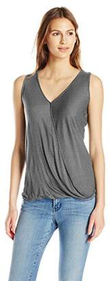 db7c70a946e510 Paper + Tee Women s Sleeveless Drape-Neck Top