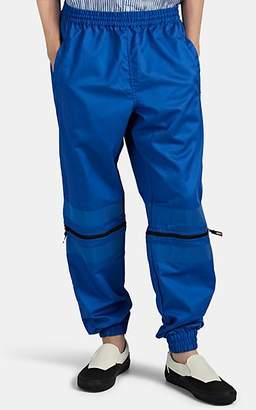 U.P.W.W. Men's Convertible Reflective-Trimmed Jogger Pants - Royal Blue