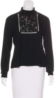 Giamba Wool Long Sleeve Top