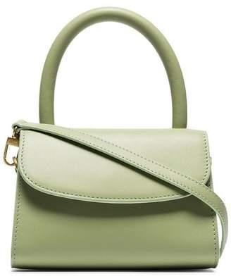 BY FAR green Mini leather cross body bag