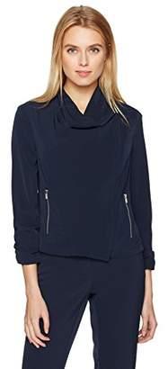 Jones New York Women's Rolled SLV Drapey Jacket