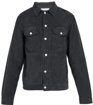 Officine Generale - Liam Corduroy Jacket - Mens - Black