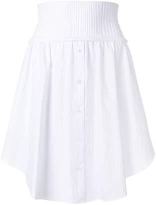 Alexander Wang button up skirt