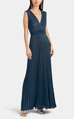 Missoni Women's Metallic Rib-Knit Gown - Navy