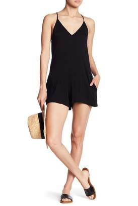 Young Fabulous & Broke YFB by Fedora Back Tie Romper