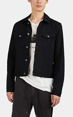 Ksubi Men's Classic Denim Trucker Jacket - Black