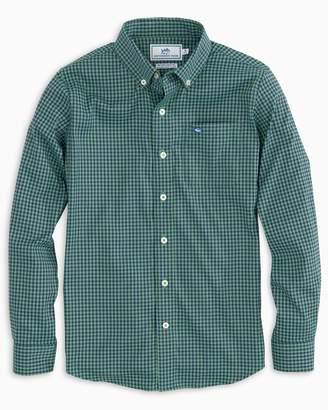 Southern Tide Boys Asilomar Intercoastal Check Shirt