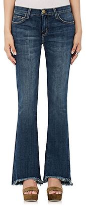Current/Elliott Women's The Flip-Flop Flared Jeans $218 thestylecure.com
