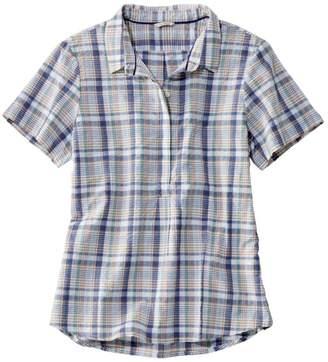 5687d70a51e2f L.L. Bean L.L.Bean Women s Textured Cotton Popover Shirt