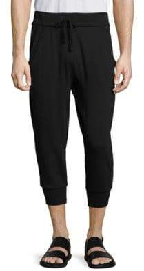 Vince Regular-Fit Cropped Sweatpants