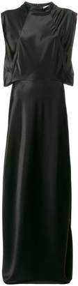Lanvin side slit long dress