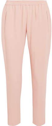 Stella McCartney - Tamara Stretch-crepe Tapered Pants - Blush