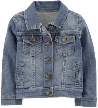 Carter's Toddler Girl Denim Jacket